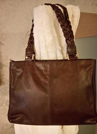 Актуальная сумочка genuine leather