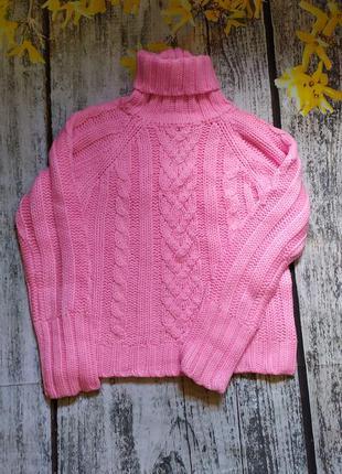 Яркий свитер/водолазка reds