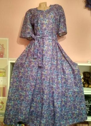 Батал! шикарное длинное платье под каблук