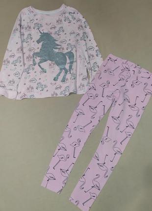 Комплект костюм лосины реглан