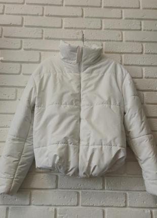 Куртка бомбер утепленная