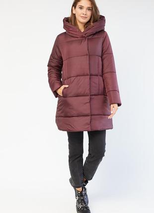Матовая зимняя женская куртка по скидке! распродажа! пальто. с капюшоном высокого качества