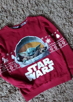 Свитшот кофта реглан свитер світшот star wars