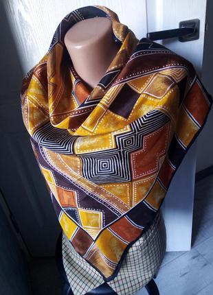 Платок шёлк хустина шовк в стиле nina ricci