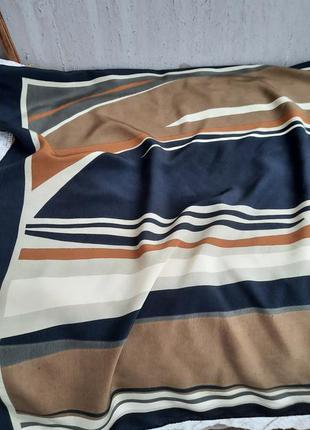 Шикарный шёлковый платок