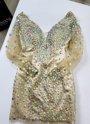 Красивое платье мини франция 🇫🇷