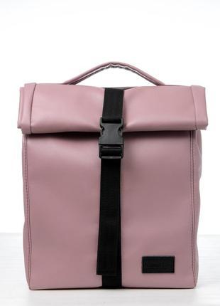 Мега стильный розовый ролл топ для путешествий, прогулок