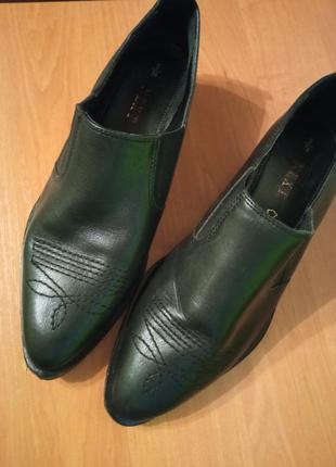 Оксфорди казаки туфли