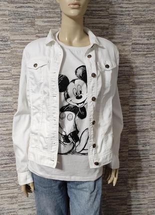 Базовый белый пиджак cecil