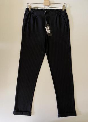 Eksept черные брюки в полоску
