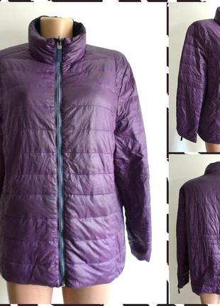 Charles vogele ультра легкая  двухсторонняя стеганая куртка-пуховик