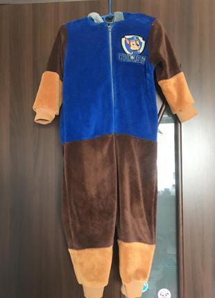Пижама меховушка человечик щенячий патруль