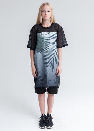 Bat norton футболка оверзайз можно носить как платье