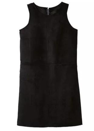 Замшевое платье с молнией на спинке esmara