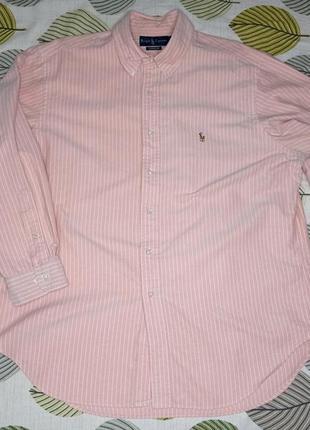 Рубашка сорочка в смужку ralph lauren