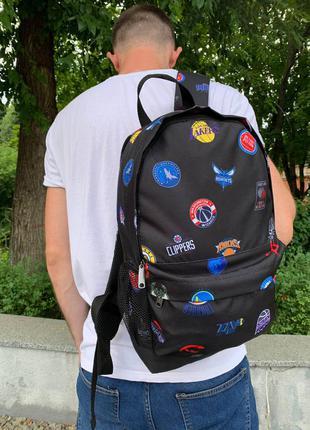 Школьный рюкзак, вместительный для учебы с принтом баскет, качественный портфель подростку