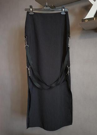 Стильная оригинальная длинная юбка sdl, британия