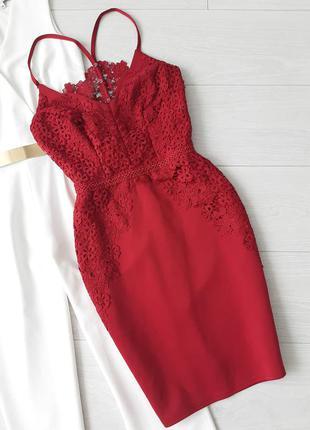 Вечірне святкове плаття з гіпюром вечернее праздничное платье с кружевом гипюром