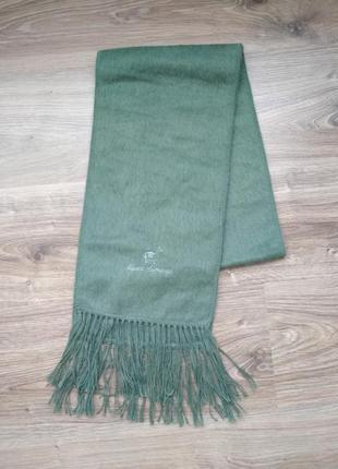 Теплый шарф из шерсти альпака