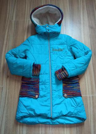 Куртка зимова осінь