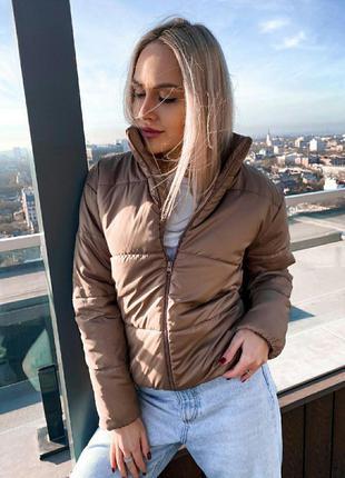 Демисезонная куртка на 42-48 размер