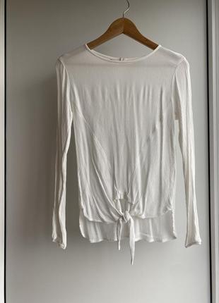 Необычная белая блузочка от bodyflirt