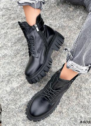 Ботинки женские timo черные