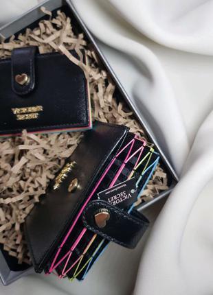 Кейс для карт, кошелёк, визитница от victoria's secret.
