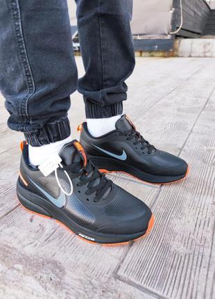 Мужские кроссовки nike zoom black/red