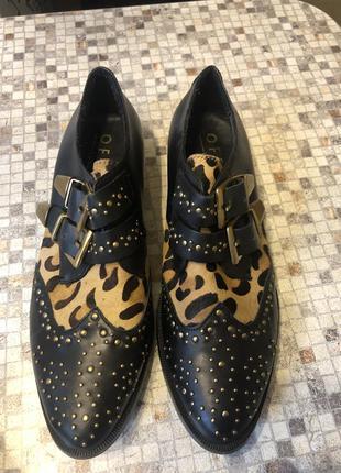 Кожаные  закрытые туфли от office london