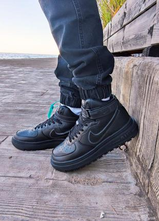 Мужские кроссовки nike air force high gore-tex