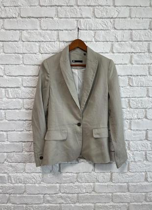 Очень крутой пиджак, smart casual, мягкий лён