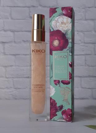 Подсвечивающее масло для тела и волос kiko milano!