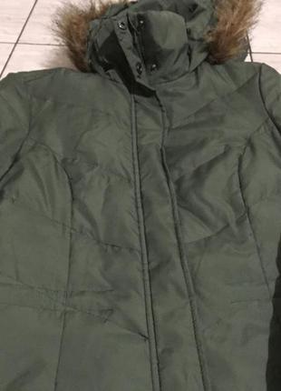 Очень тёплый пуховик пальто made in germany otto пух перо