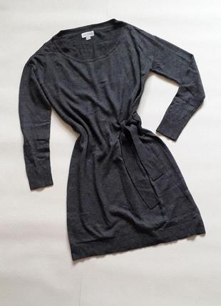 Теплое серое платье blue motion
