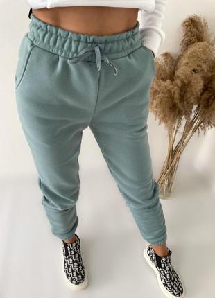 Спортивные штаны трехнить на флисе 5 разцветок