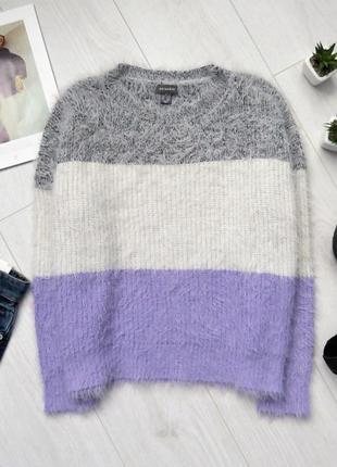 Свободный свитер травка