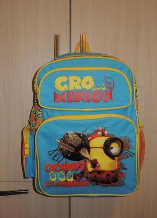 Фирменный рюкзак миньоны posh paws