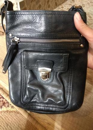 Шкіряна красива сумка