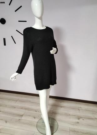 Вязаное платье, туника,длинный свитер