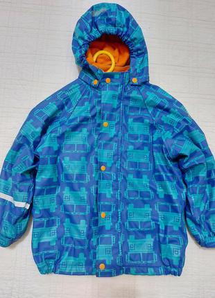 Непромокаемая утепленная демисезонная куртка care tex р. 104 (4-5 лет)