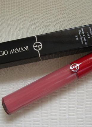Armani lip maestro - жидкая помада для губ # 500 blush