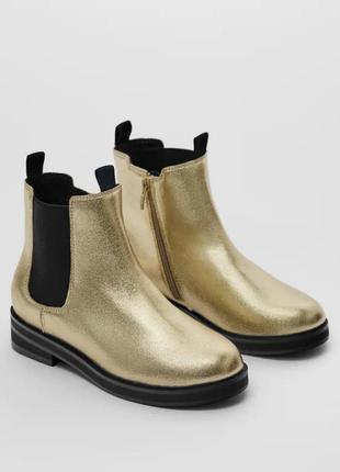 Ботинки для девочки zara
