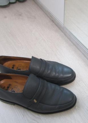 Кожаные мужские туфли db extra wide
