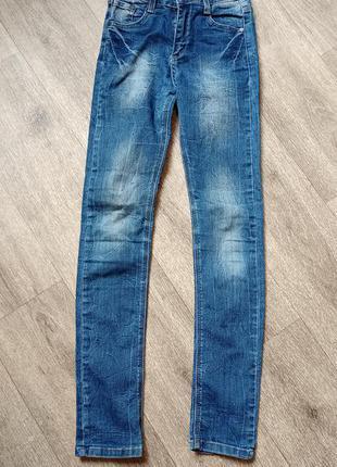 Классные, стильные джинсы на девочку 10-11 лет