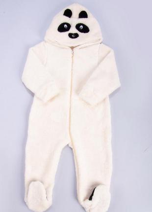 Комбинезон панда махра
