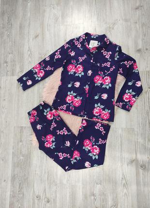 Байковая фланелевая пижама