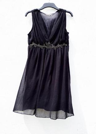 Платье в греческом стиле saint tropez чёрное