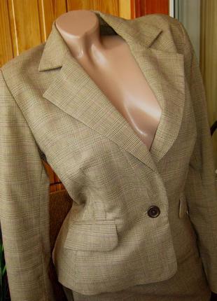 Элегантный деловой костюм от премиум-марки sinequanone - р. 44-46 укр.