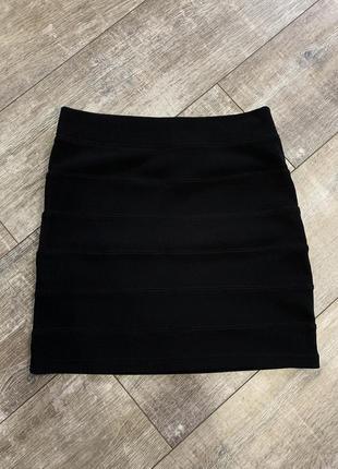 Мини юбка h&m divided 10uk m-l
